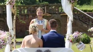 Hochzeitsfilm - Die Hauptdarsteller das Brautpaar